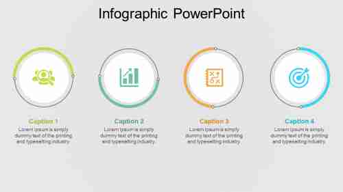 infographic powerpoint - circular model